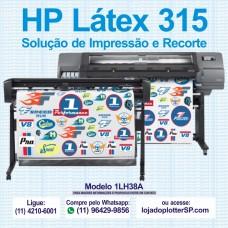 Impressora HP Látex 315 Plotter de Recorte e Impressao 1LH38A