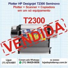 Multifuncional HP DesignJet T2300 Plotter Scanner Copiadora Usada