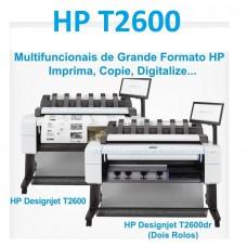 Multifuncional HP DesignJet T2600 Plotter Scanner Copiadora Formato A0