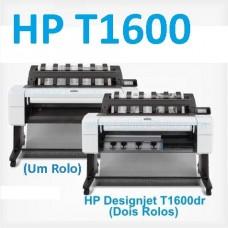 Impressora Plotter HP DesignJet T1600 formato A0