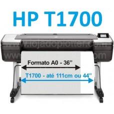 Impressora Plotter HP DesignJet T1700