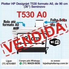 Impressora Plotter HP DesignJet T530 formato A0