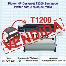 Plotter HP T1200 usada 111cm
