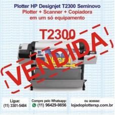 Multifuncional HP DesignJet T2300 Plotter Scanner Copiadora Formato A0